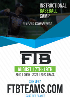 FTB FALL CAMP REGISTRATION NOW OPEN!