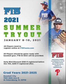 FTB Summer 2021 Tryouts!