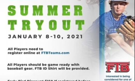 FTB Summer 2021 Tryouts!